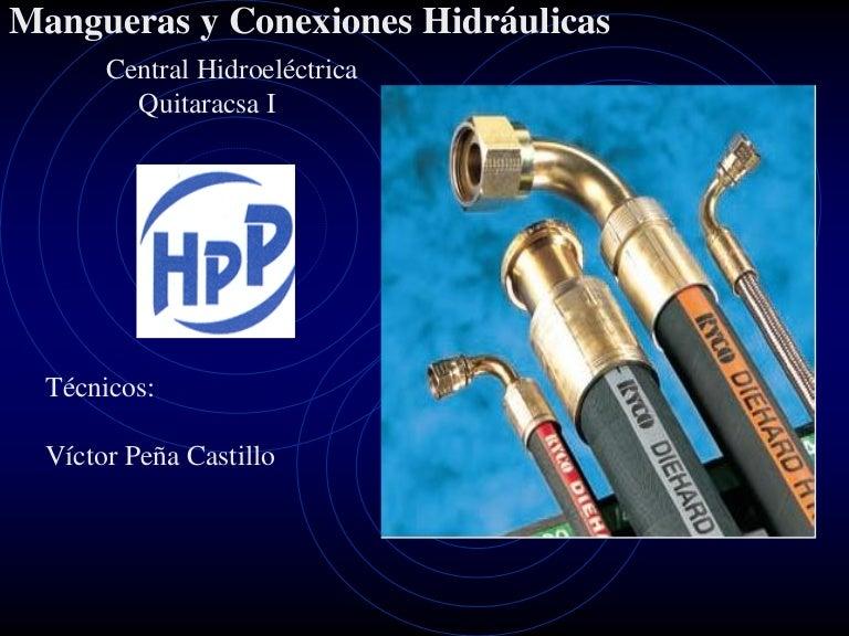 Tipos de conectores hidraulicos pdf