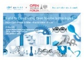 Capgemini@owf2011   build to cloud using open source technologies
