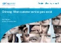 Chinwag Live: When customer Service Goes Social - Guy Stephens, Capgemini