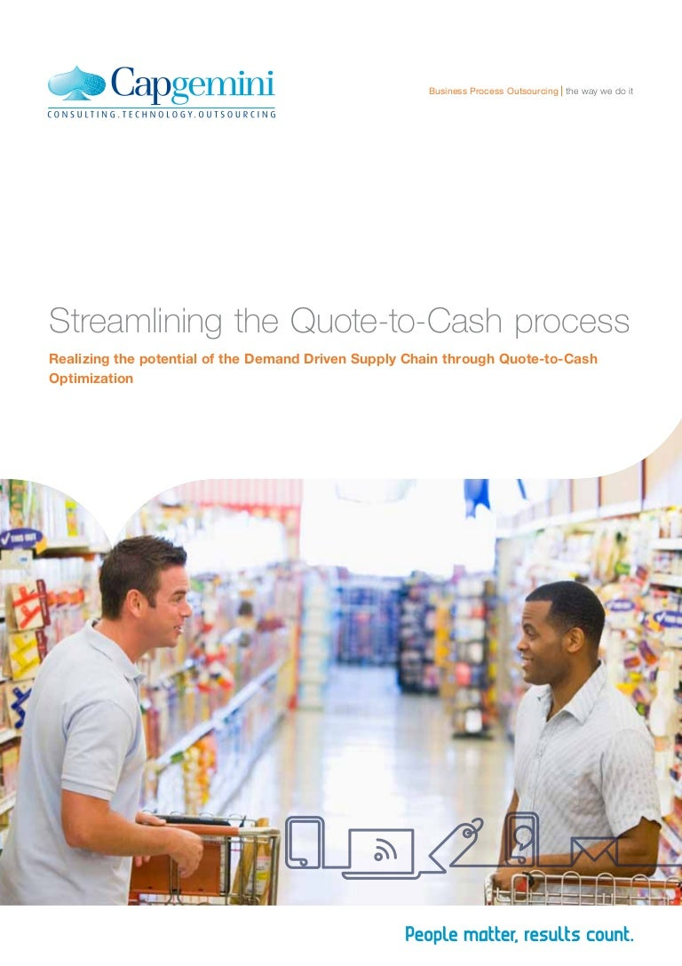 Quote To Cash Streamlining The Quotetocash Process