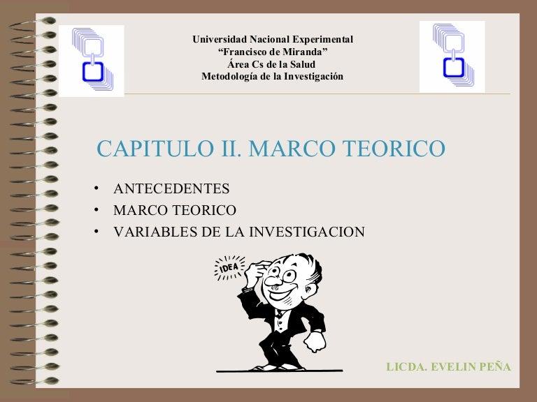 Capitulo II- Marco Teórico
