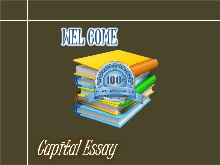 Good Persuasive Essay Topics For High School  Thesis Statement For Education Essay also Example English Essay Capital Essaycom Best Academic Writing Service Provider Essays For High School Students