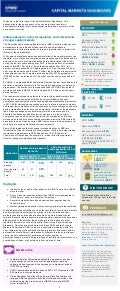 Capital Markets Dashboard : June 15 - Issue 3