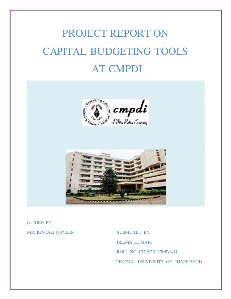 capital budgeting copy