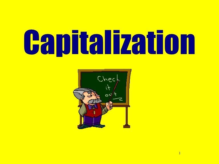 Practice Capitalization | Worksheet | Education.com