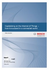 Capitalizing on the Internet of Things
