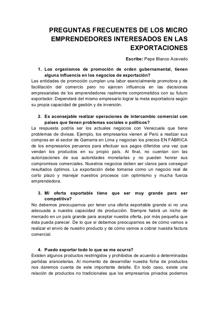Capitulo viii preguntas frecuentes para futuros exportadores (1)