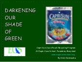 Capri Sun PowerPoint for ECS Students