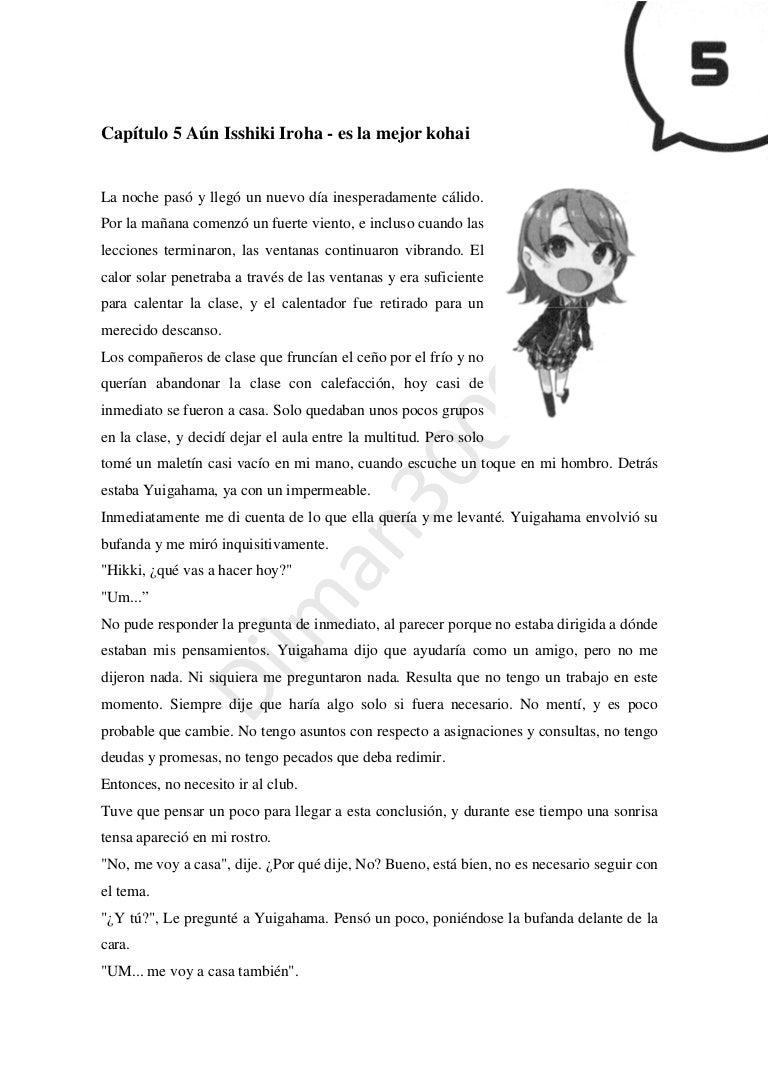 Oregairu - Novela Ligera Vol.12 Capitulo 5