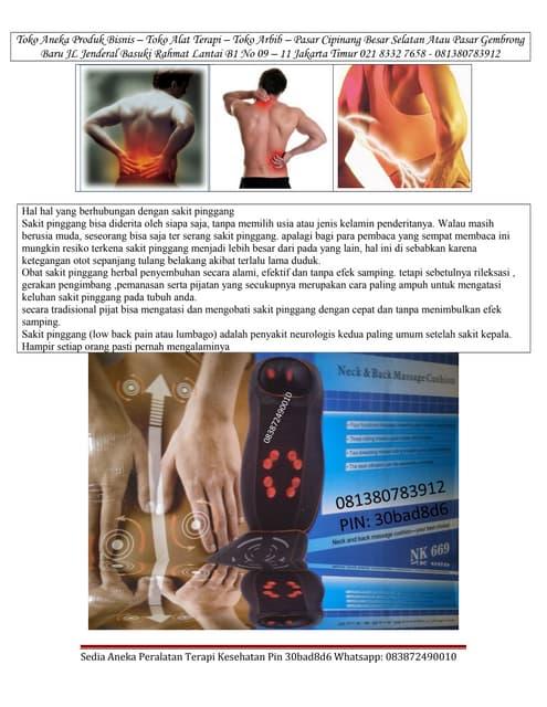 Cara jitu mengatasi sakit pinggang Dengan menggunakan kursi shiatsu portable terapi