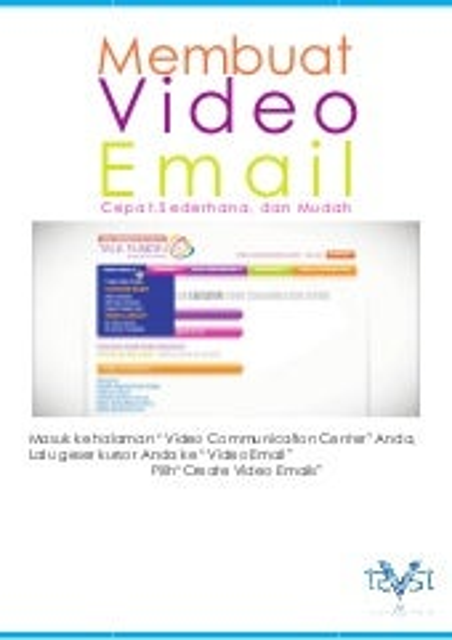 Cara membuat video email