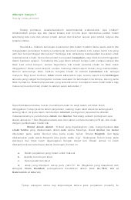Bab 13 Tata Cara Shalat Jama' Qasar