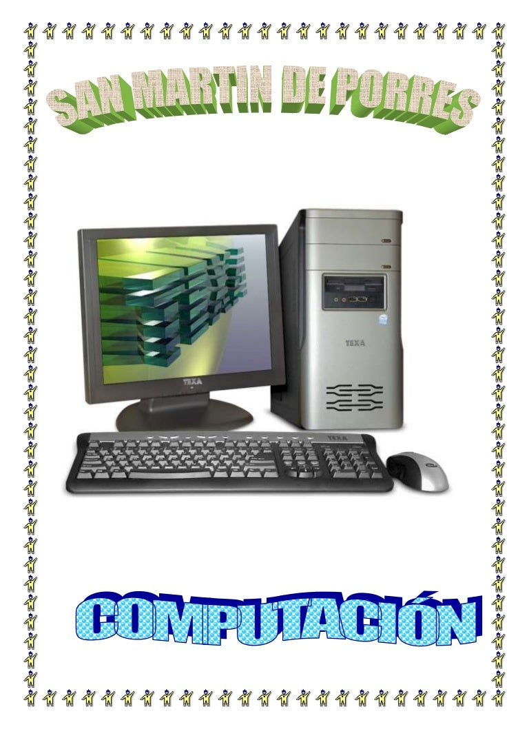caratula de computacion