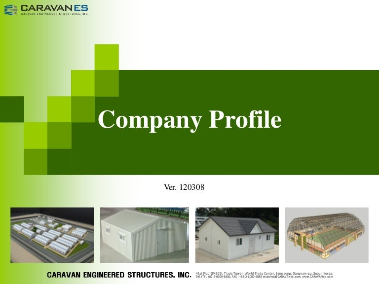 Caravan es company profile for Advertise for companies