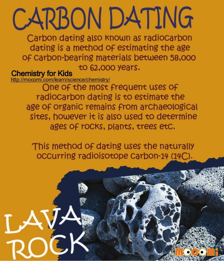Why is radiocarbon dating used