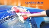 Carcility Clone Mobile Car Wash App Solution