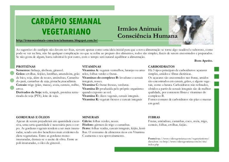 Dieta vegetariana semanal para principiantes