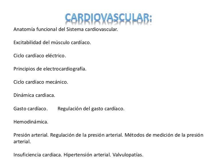 Presión arterial del músculo cardíaco