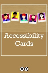 Cards - Users with Disabilities - Course Material
