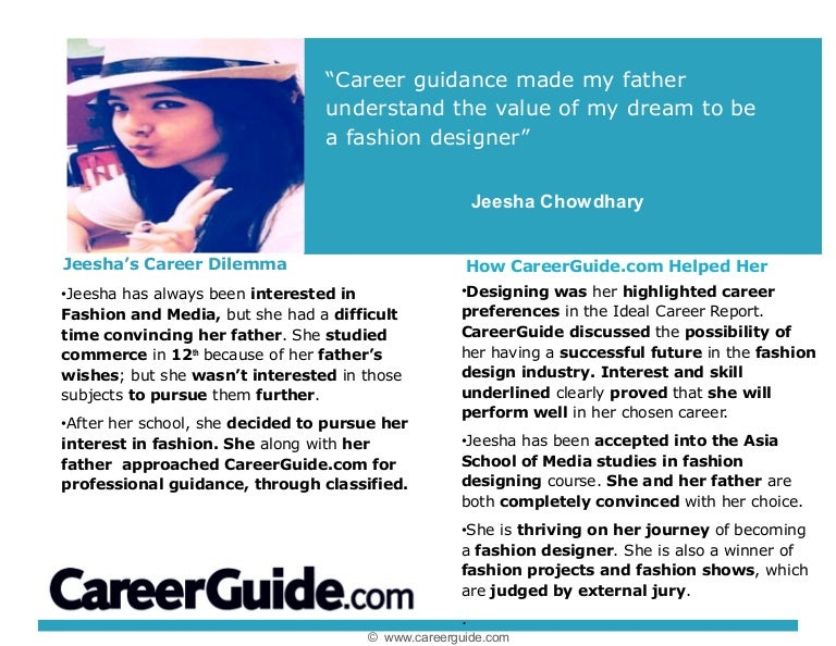Career Counselling Impact Story Jeesha Chowdhary