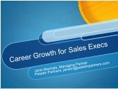 Career growth for sales executives