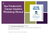 Sue Frederick Career Intuitive Workshop 2011