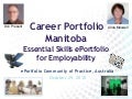 Career Portfolio Manitoba: ePortfolio for Employability