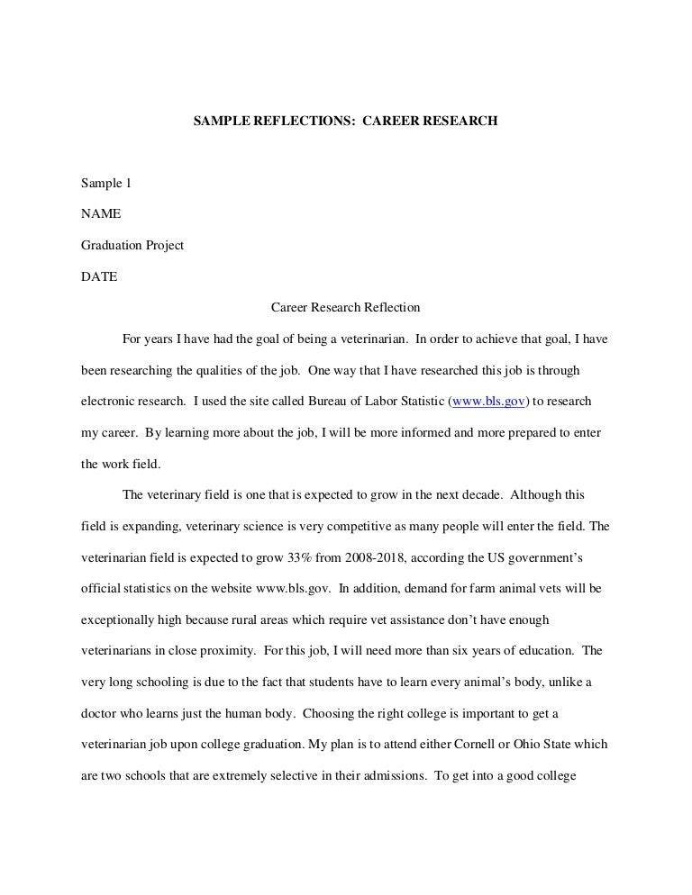 Choosing A Career Essay Paper  Essays On Career Choosing A Career Essay Paper High School Essay Sample also The Yellow Wallpaper Essay  Thesis Argumentative Essay