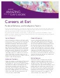 Esri Careers in the Federal, Defense, and Intelligence