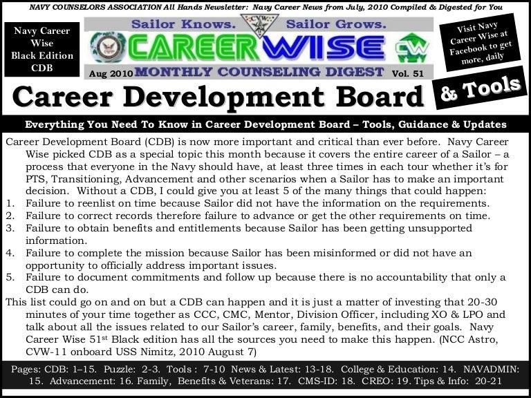 Career Wise August 2010 Cdb Edition