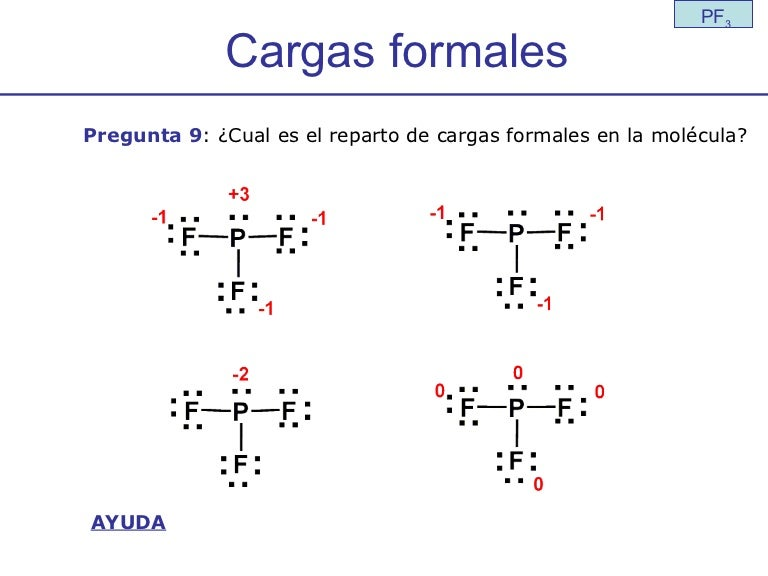 Cargas Formales Pf3