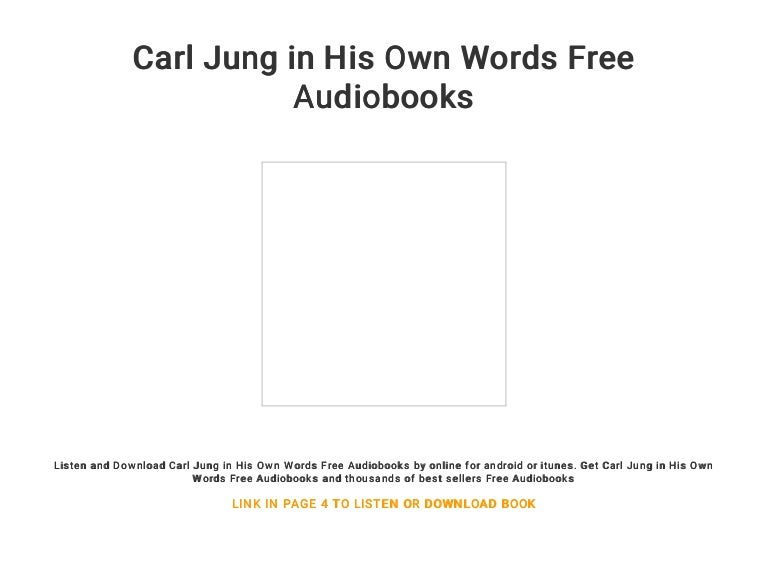 carl jung books online free