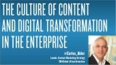 Content and Digital Transformation in the Enterprise (By: Carlos Abler, Leader Content Marketing & Strategy @ 3M) #ContentIsrael15