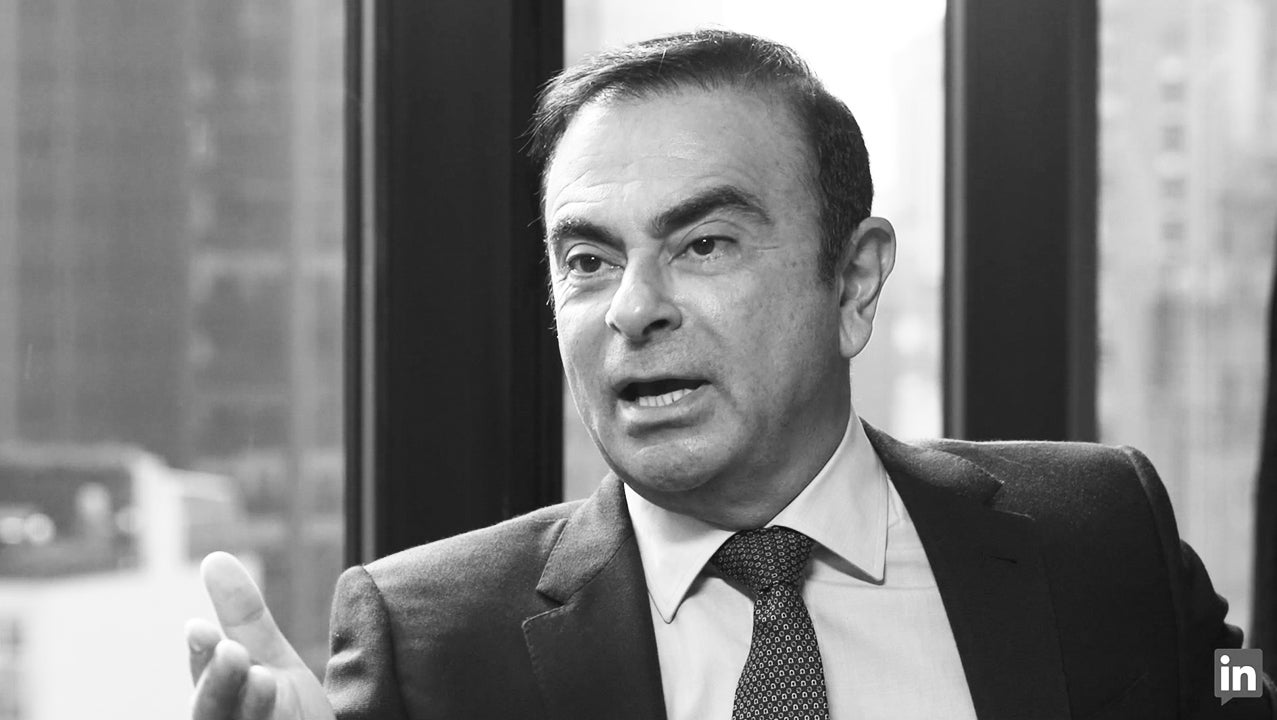This Is What Carlos Ghosn Tells His Kids About Career Success