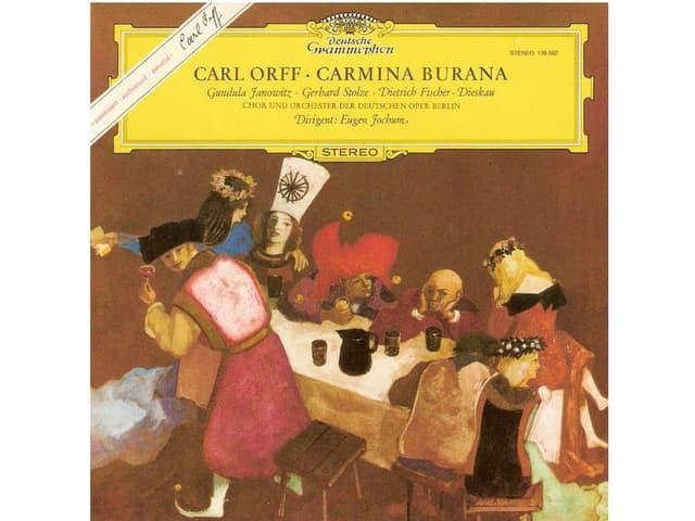 Carmina Burana album to download carl orff by eugen joschum