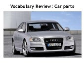 Vocabulary Review: Car Parts