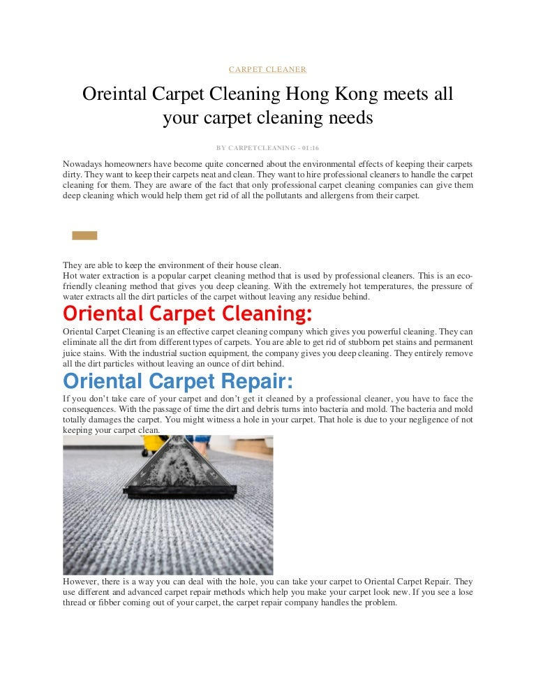 Sultan Carpet Cleaning Is The Best Carpet Cleaning Company