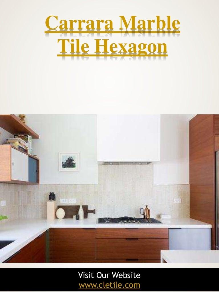 - Carrara Marble Tile Hexagon|https://www.cletile.com/