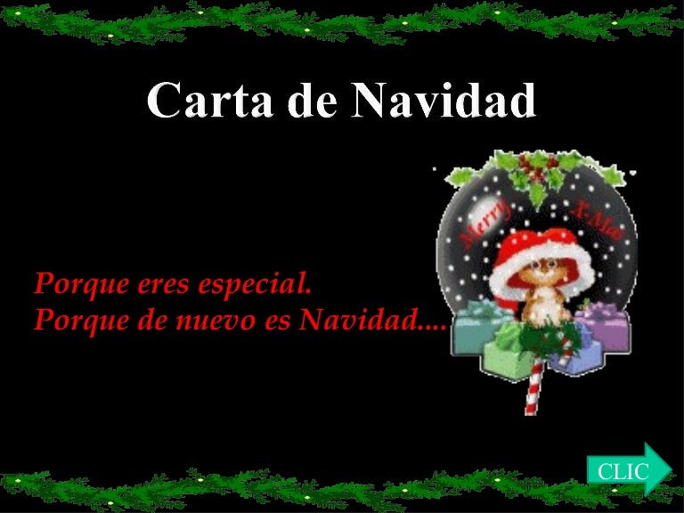 Carta de navidad - La mejor tarjeta de navidad ...