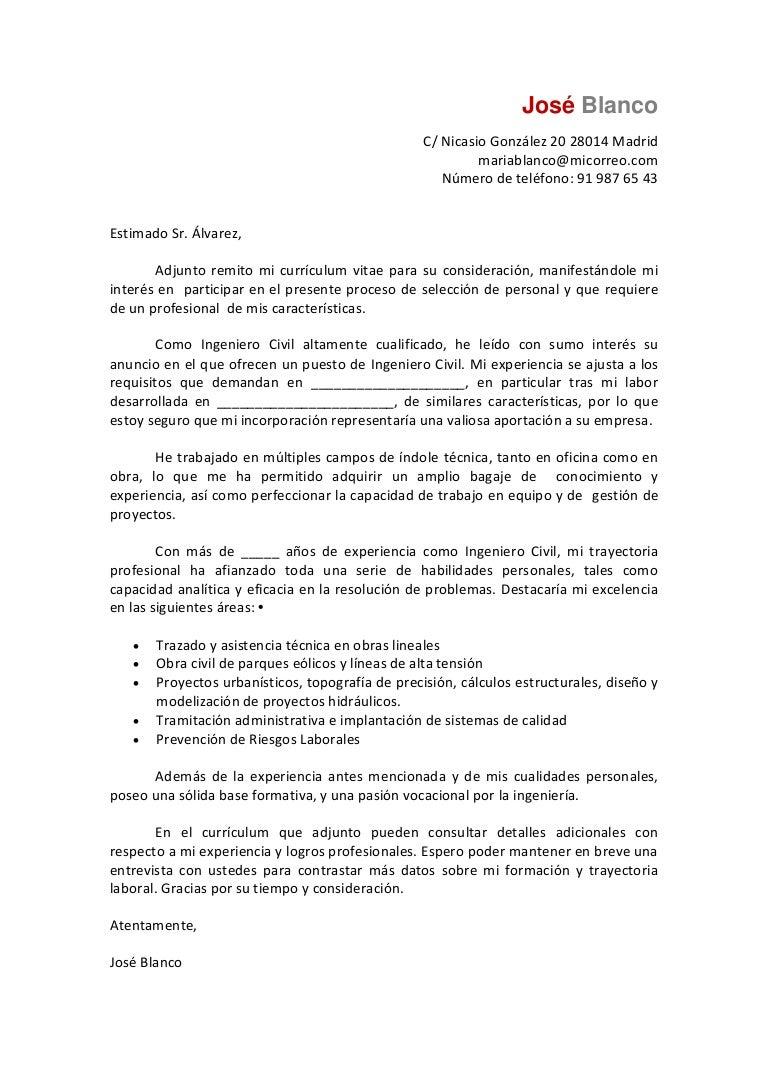 Carta de-presentacion-ingeniero-civil