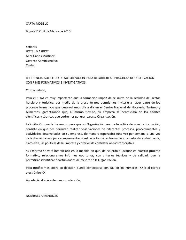 carta de referencias laborales