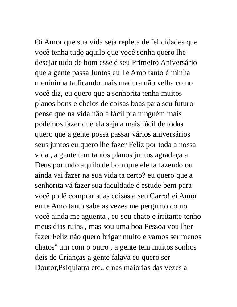 Carta Anivers Rio Da Gessica