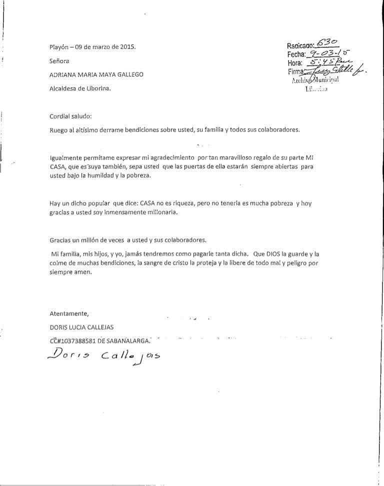 Carta de agradecimiento por vivienda nueva20150310 18072144 - Carta specchio dove si compra ...