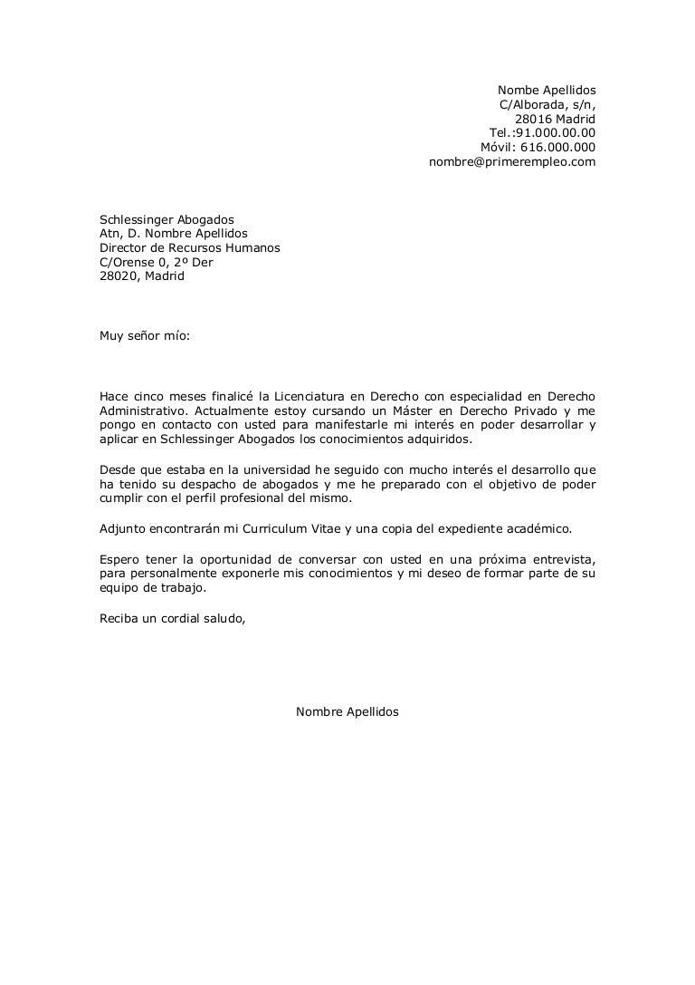 Magnífico Ejemplos De Currículum Para La Solicitud De Empleo ...