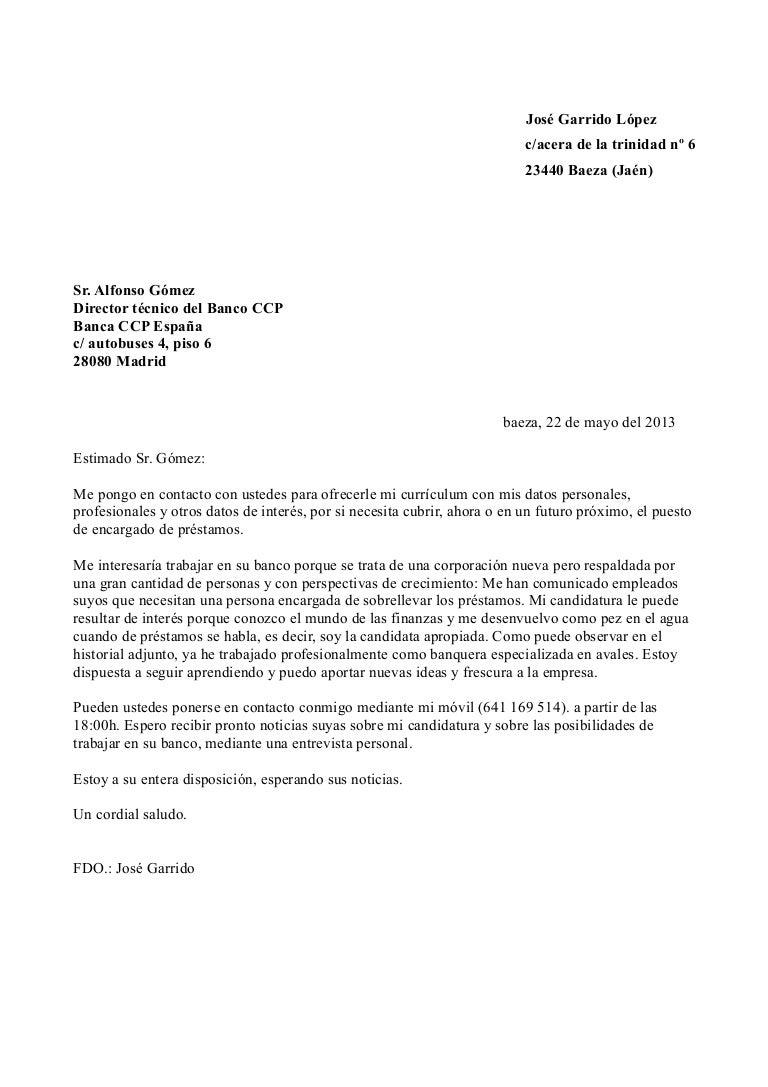 Lujo Por Favor Revisa La Carta De Presentación De Mi Curriculum ...