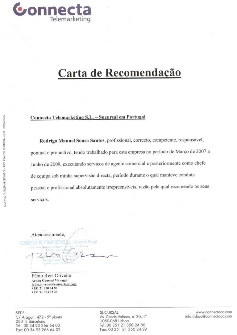carta de recomenda u00e7 u00e3o