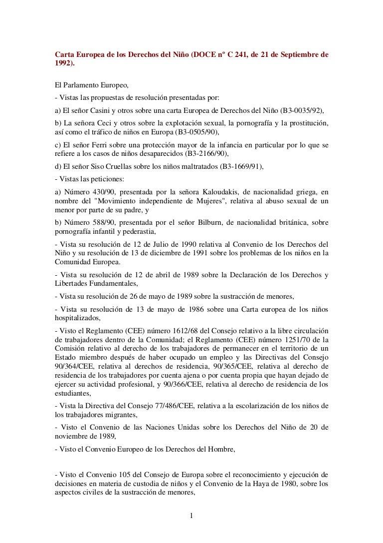 Carta europea derechos_nino