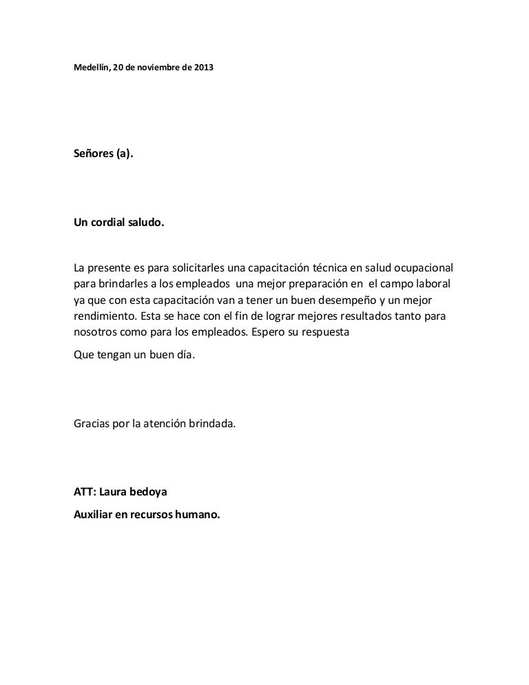 carta laboral laura