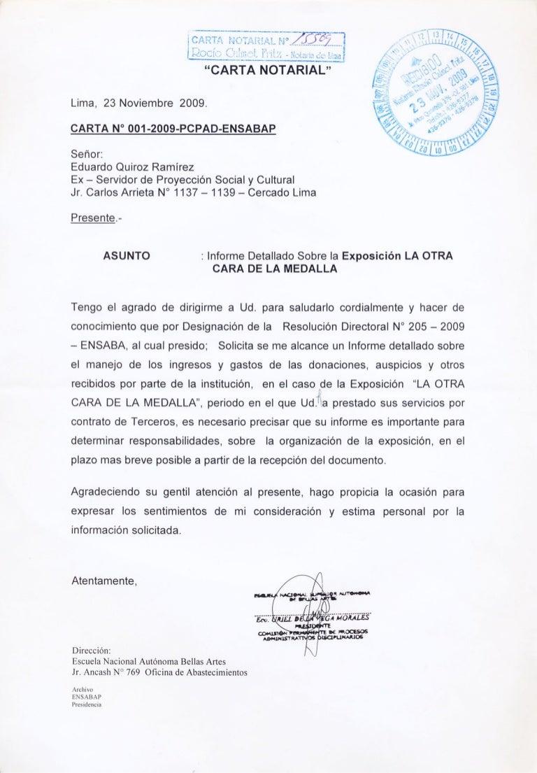 Formato De Carta Notariada Wwwmiifotoscom