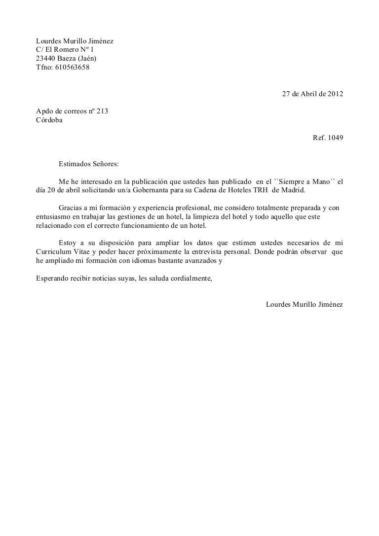 Lujoso Carta De Presentación Por Correo Electrónico Para La Muestra ...